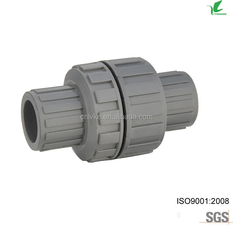 PLASTIC PVC NON RETURN BALL VALVE