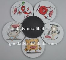 new products for 2012 hot sale popular cheaper beautiful promotional eva foma coaster