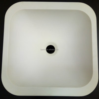 pure acrylic sink,composite stone undermount marble kitchen sink