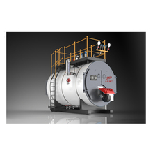 WNS Fire Tube Industrial Boiler Oil Gas Fired Steam Boiler Price For Sale