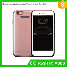 Phone battery case mobile external power bank cover can custom for iphone 6 6s