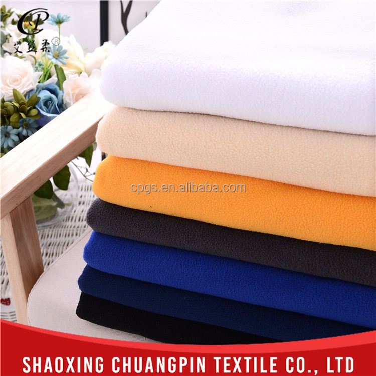 100% polyester factory sale soft touch textile raw material polar fleece fabric