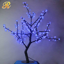 Artificial led lighted flower tree for table wedding decoration