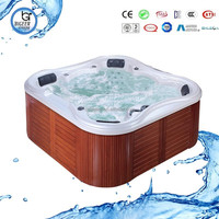 Spa tub 6 person hot tubs sale Balboa system clear acrylic bathtub foot bath BG-8816
