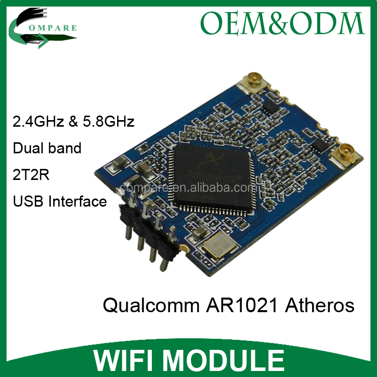 Compare qualcomm wireless embedded wifi module usb ar1021