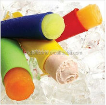 DIY freeze Ice Pop Mold Ice Cream Mold with Attached Lids, Ice Cream Ice Pop Mold, silicone popsicle molds