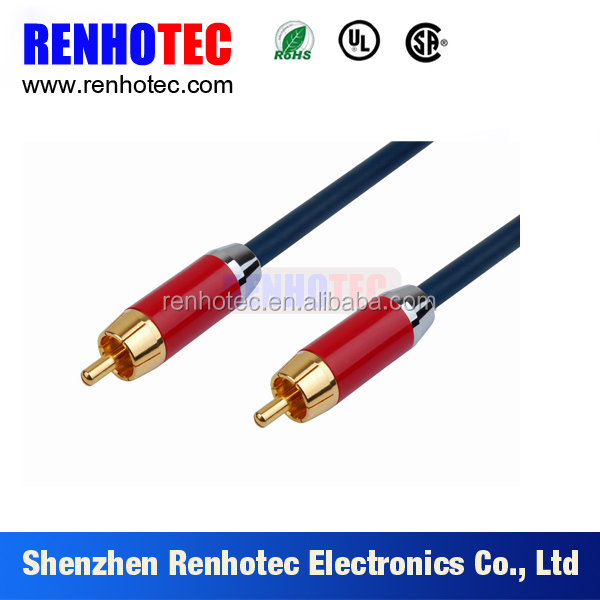 High Quality 3RCA Male to Male Audio Video extension cable
