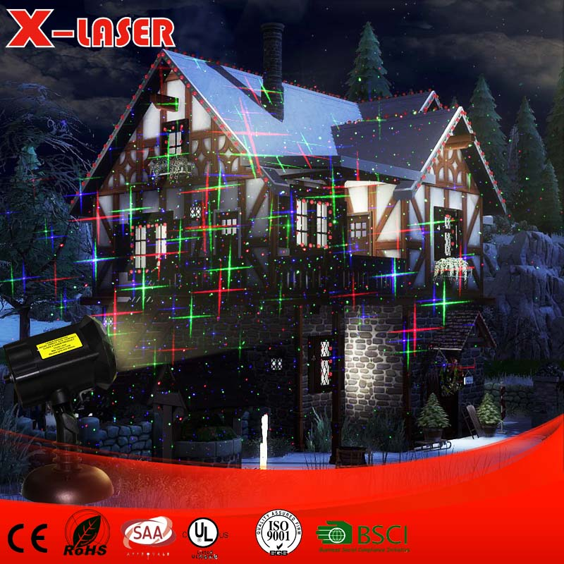 new products 2017 IP65 waterproof outdoor christmas meteor shower laser light