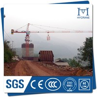 Top 10 crane manufactures flat top tower crane supply tower crane 60 meter