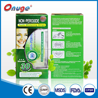 Fresh breath & White smile & Strong oral No peroxide teeth whitening strips