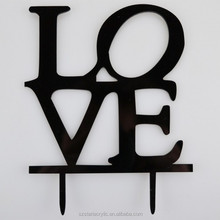 Acrylic Cake Topper,Love Sign Acrylic Wedding Birthday Day Cake Topper