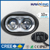 10W bright blue spot LED work light for truck auto car