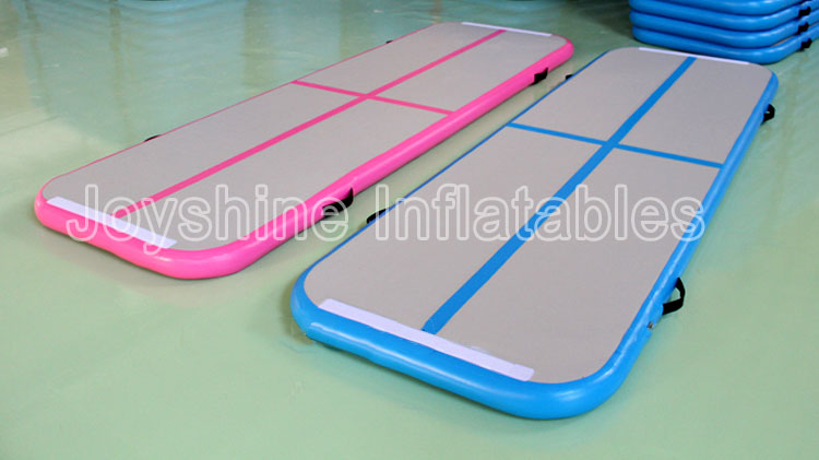 Wholesale 5m Gymnastics Air Track Tumbling Mat Mint Green Pink Blue Black Yoga Gym Tumble Airtrack Pro Mats For Sale