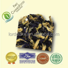 Natural coloring dried butterfly pea