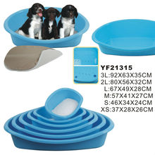 Wholesale Eco-Friendly Durable Plastic Pet Bed Dog Bed