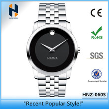 Custom Your Own Logo Wholesale Stainless Steel Watches Men Simple Luxury