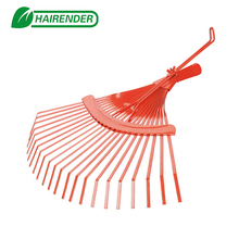 22T powder coating adjustable leaf rake