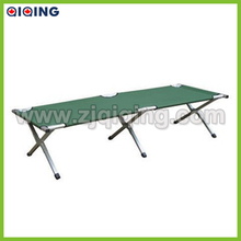 Portdable aluminum military bed army cot with 600D carrying bag HQ-8001N