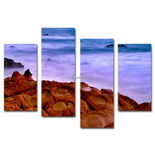 Rock sea of clouds landscape canvas art printing