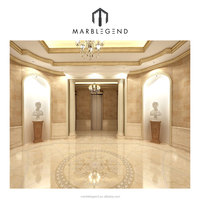 Imperial beige ideas chateau interior decoration crema marfil marble tiles floor