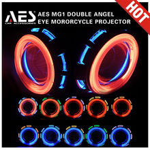 New Arrival! mg1 Motorcycle small projector hid bi-xenon bulbs headlight projector lens h7