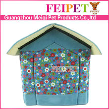 latest soft plush indoor dog bed dog house for sale