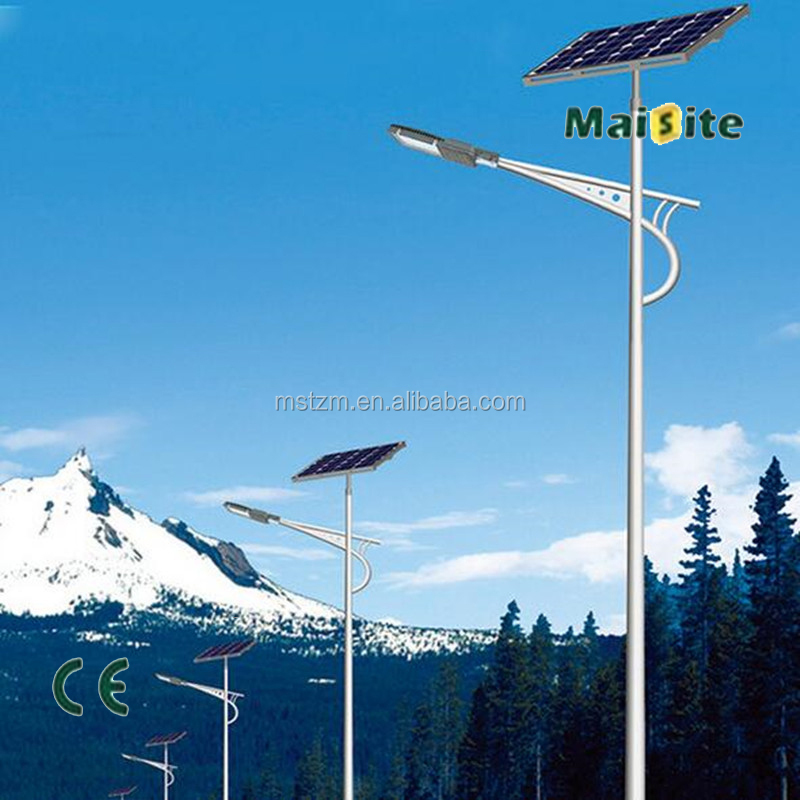 Anti-rust LED Solar Street Light Manufacturer CE Approved solar street lamp