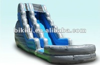 wild wave side and inflatable pool