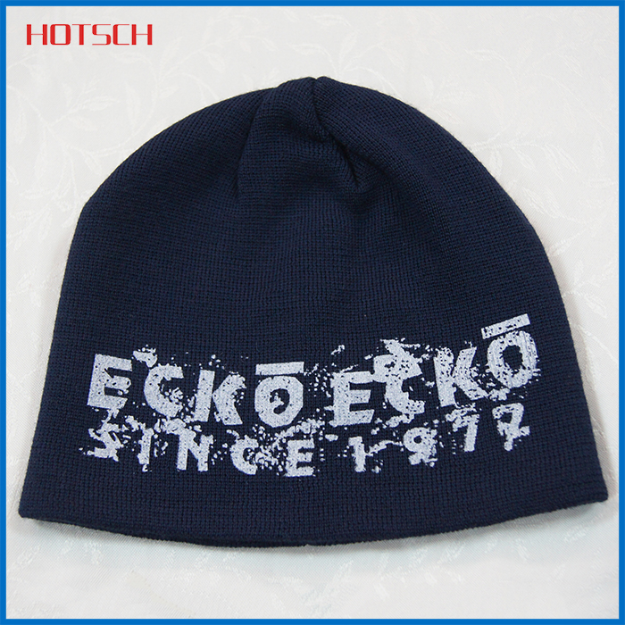 cheap promotional winter slouch beanie hat