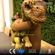 MY Dino-J242 Hand Control Eyes Blink Realistic Baby Dinosaur Hand Puppet