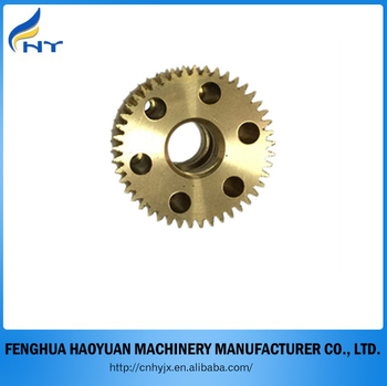brass worm gear bronze gear high quality custom aluminum ring gear