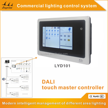 Commercial hotel stadium lighting LED control system /DALI dimming system /DALI touch screen controller