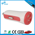 Wholesales portable charger 5v 2.1A dual usb charger for mobile phones