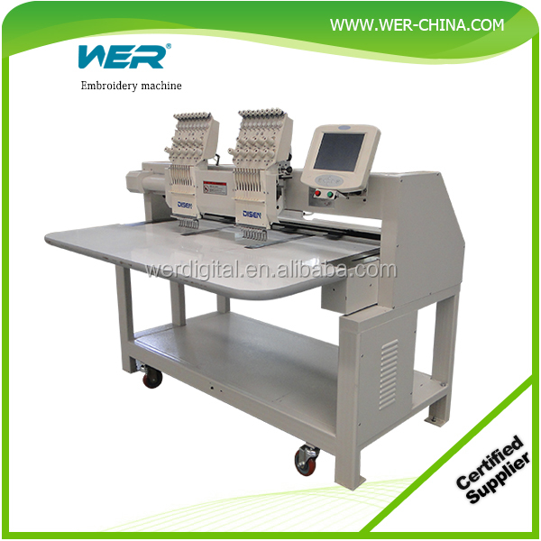 Multi-head WER Brand embroidery machine