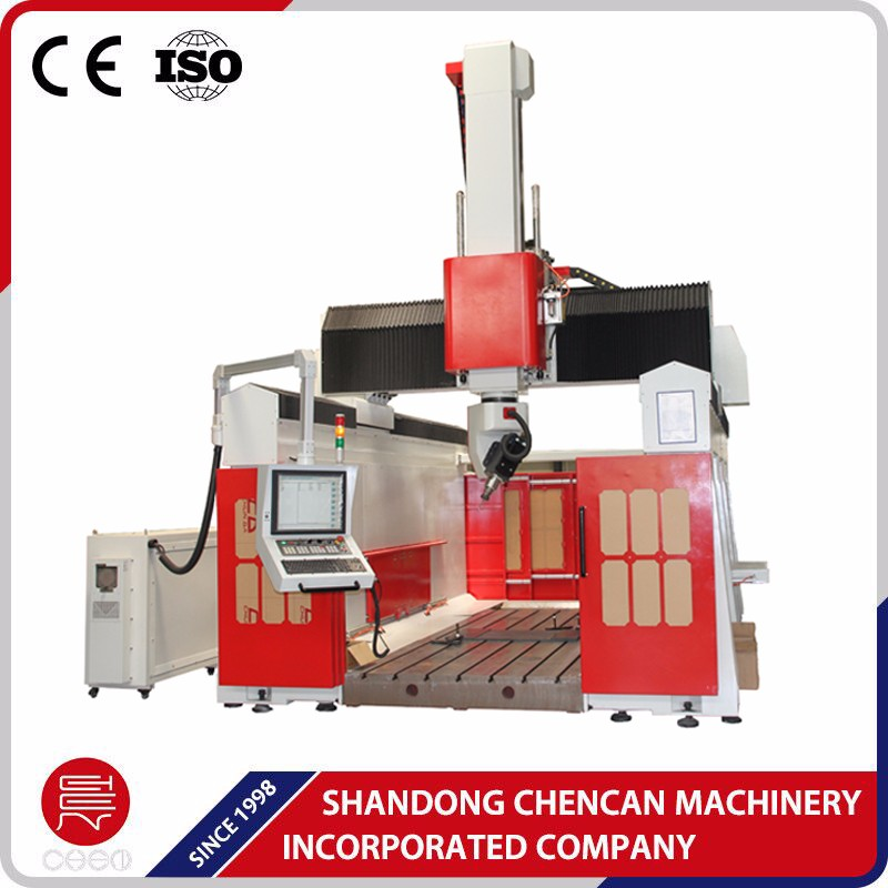 China professional Industrial 5 Axis Wood Mold CNC Router for sale