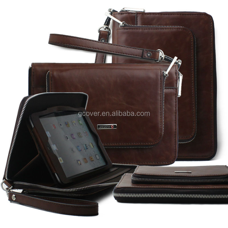 New products leathe case for mini ipad,stylish new design for ipad Mini bags