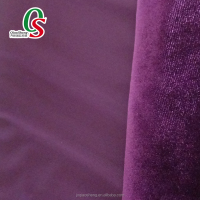 warp knitting KS velvet high-quality flocked velvet fabric for garment,home textile