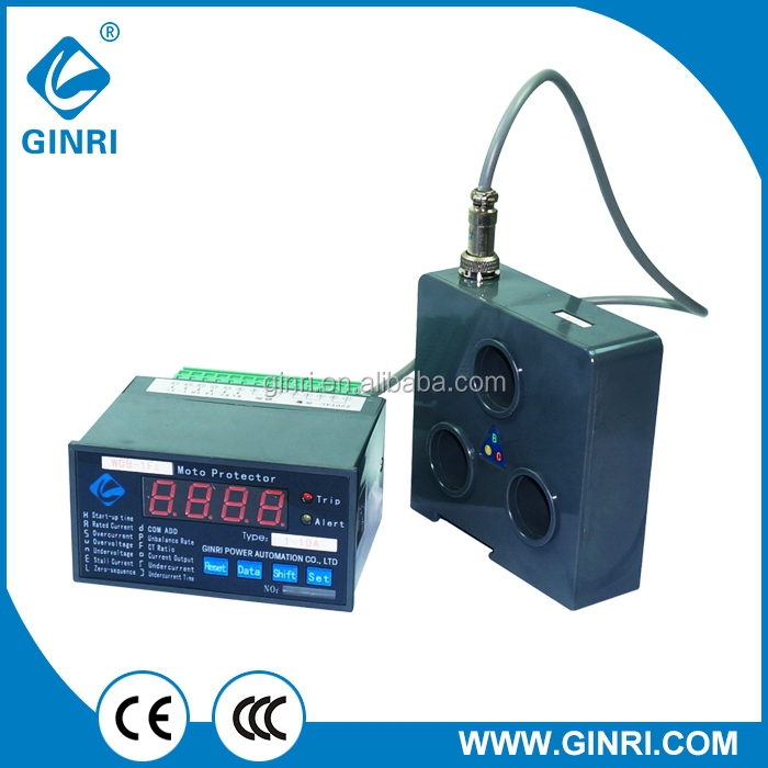GINRI WDB-1F2 Intelligent Motor Protector Voltage Monitor Phase Protection Relay Current monitoring relay