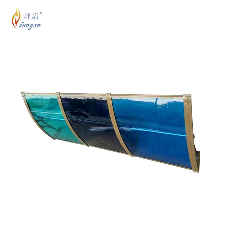 Kunyan outdoor cheap building materials polycarbonate porch canopy