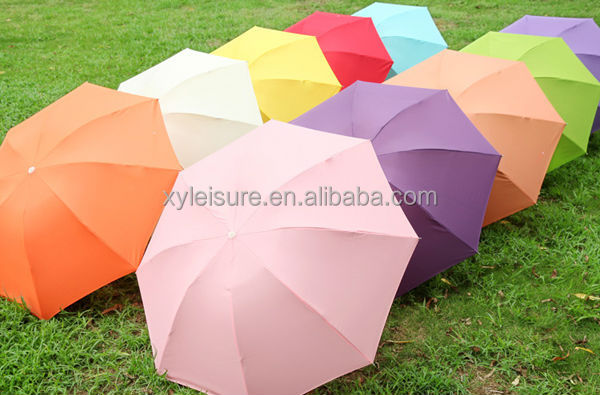 21 inches 8 ribs 3 fold umbrella