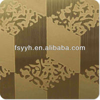 ti golden stainless steel decoration plate best product for import