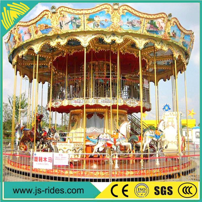 wholesale carousel horse luxury decoration equipment