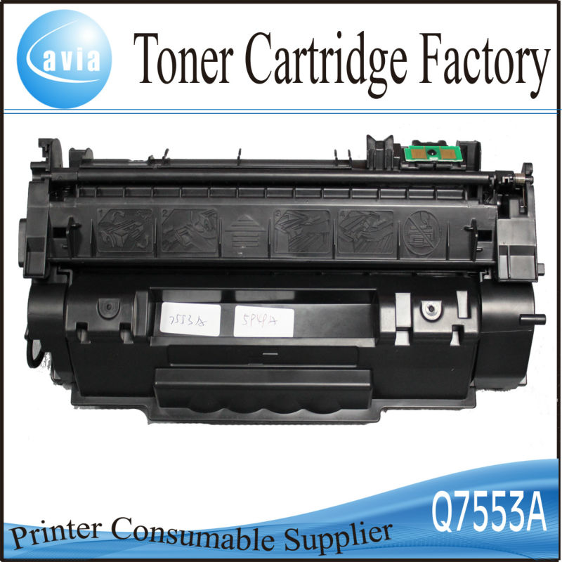 printer cartridge for hp toner cartridge 7553