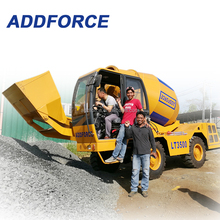 self loading concrete truck mixer from Shangdong cons