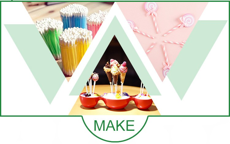 Wholesale Customized Design Printing Lollipop Paper Sticks