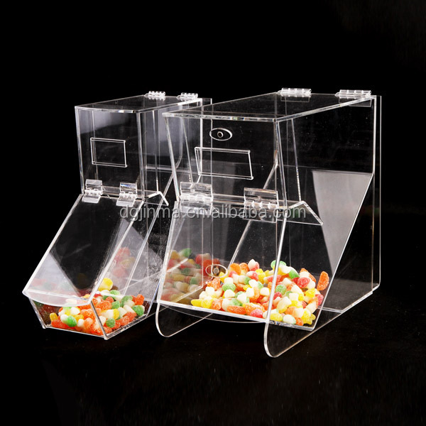 new design clear small acrylic boxes with lids,plexiglass candy box fpr department store