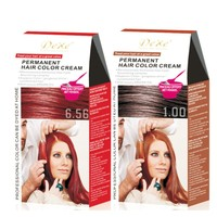 Hair Dye Color Brands and Private Label Hair Dye Cream