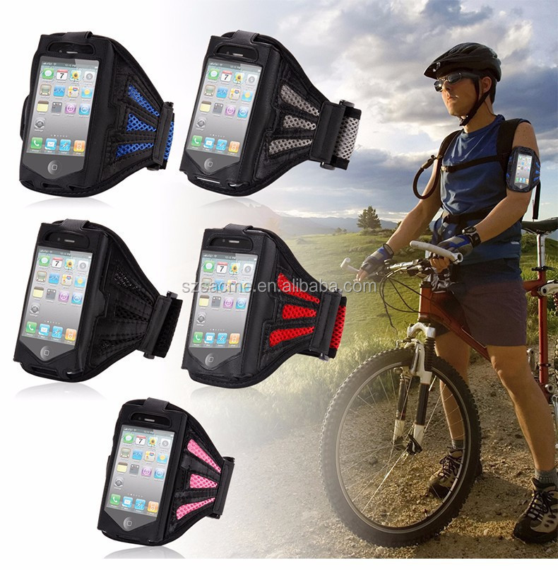 Mesh Nylon Smartphone Armband Case For iphone 6,Sport Gym Waterproof Armband jogging Case
