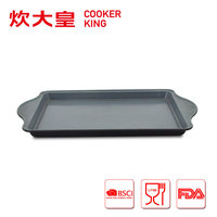 New carbon steel coated pizza sheet pan