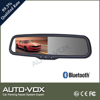 Bluetooth hands free original style rear view mirror monitor